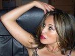 Devote Kasandra - Braunes Haar, Show mit Dildo